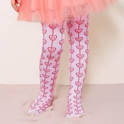 Panty medias corazones
