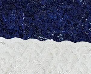 BLUE-ECRU